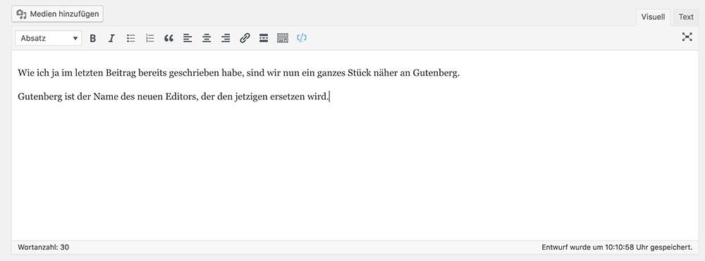 wordpress editor visual - Anleitung: Wie verwende ich den WordPress Editor Gutenberg?