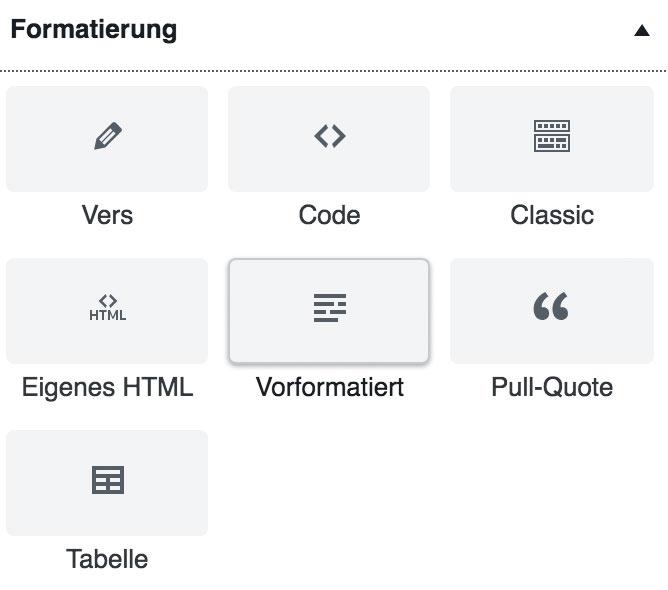wordpress gutenberg block format - Anleitung: Wie verwende ich den WordPress Editor Gutenberg?