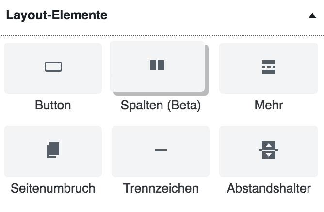 wordpress gutenberg block layout - Anleitung: Wie verwende ich den WordPress Editor Gutenberg?