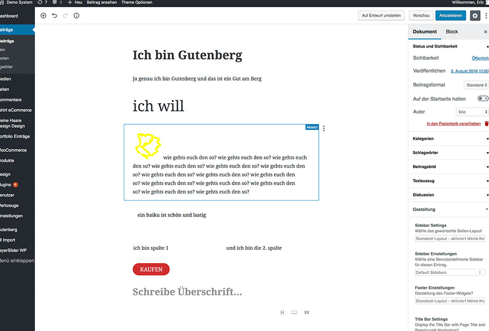 wordpress gutenberg seite bearbeiten - Anleitung: Wie verwende ich den WordPress Editor Gutenberg?