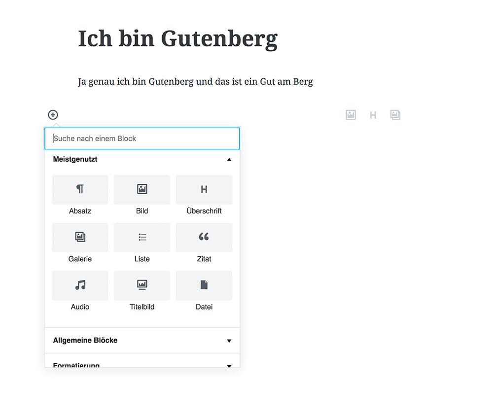 wordpress update 498 gutenberg 2 - WordPress 4.9.8 veröffentlicht - Gutenberg ist da