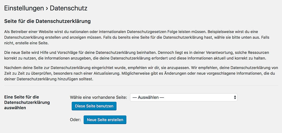 wordpress version 496 10 - Die DSGVO WordPress Version 4.9.6 ist da