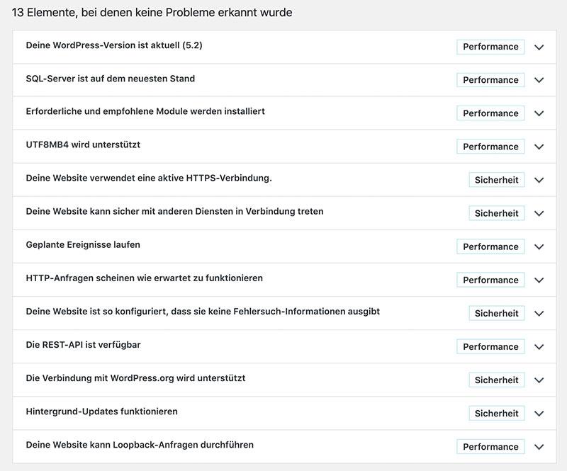 wordpress version 5 2 bild3 - WordPress 5.2 wurde veröffentlicht