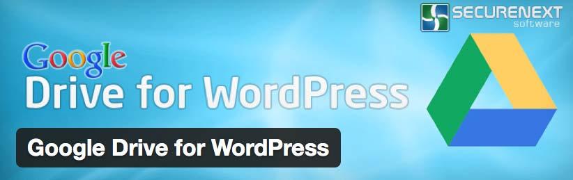 WordPress Plugin: Google Drive for WordPress