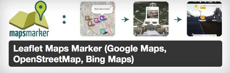 Leaflet Maps Marker (Google Maps, OpenStreetMap, Bing Maps) WordPress Plugin