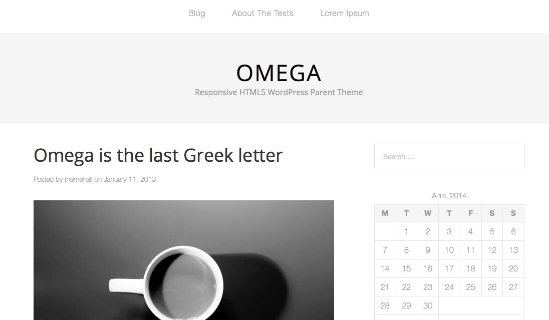 Omega - Free WordPress Themes – Part 2