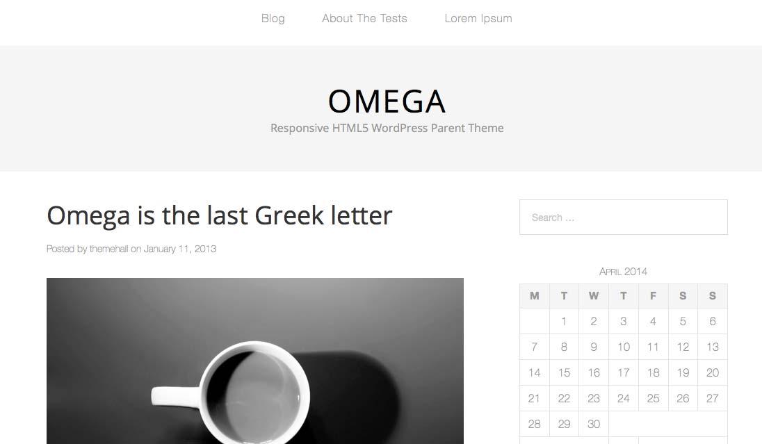 Omega - Free WordPress Themes – Part 2