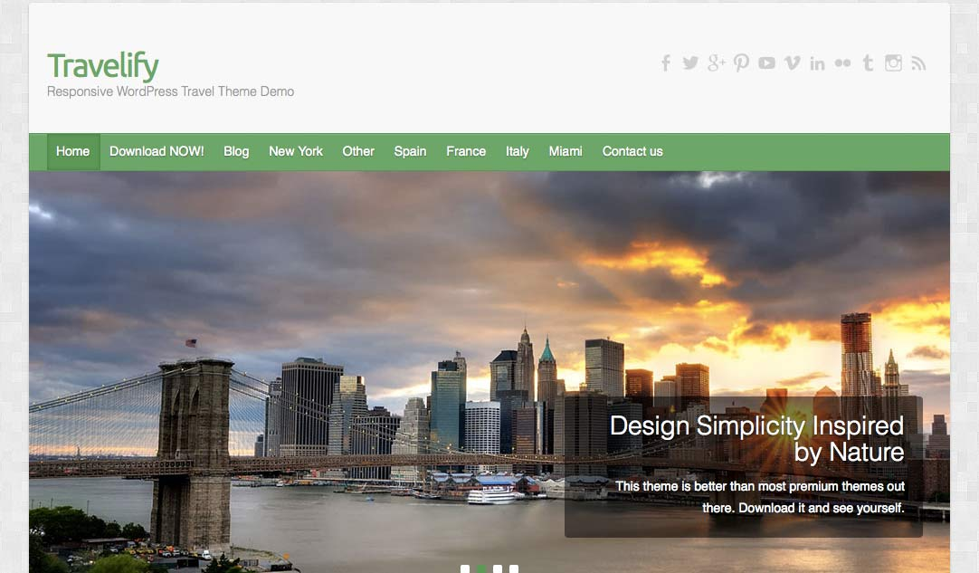 Travelify - Free WordPress Themes – Part 2