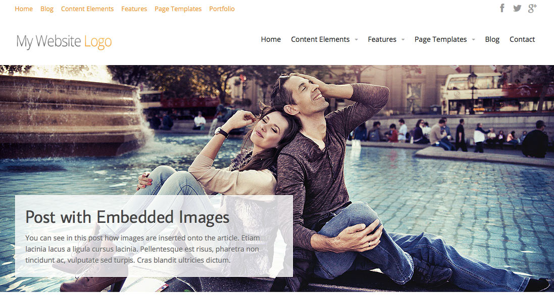 Free WordPress Theme - Intuition