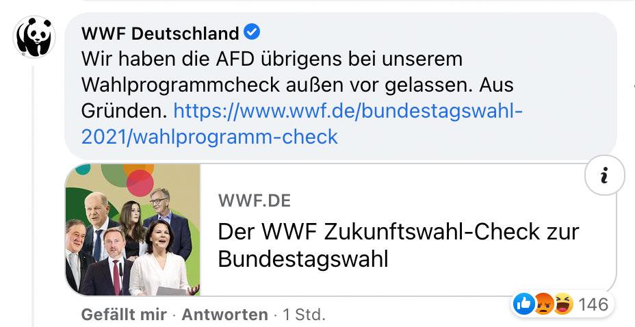 wwf socialmedia fail 2 - True Fruits - EDEKA und WWF - So geht Social Media (nicht)
