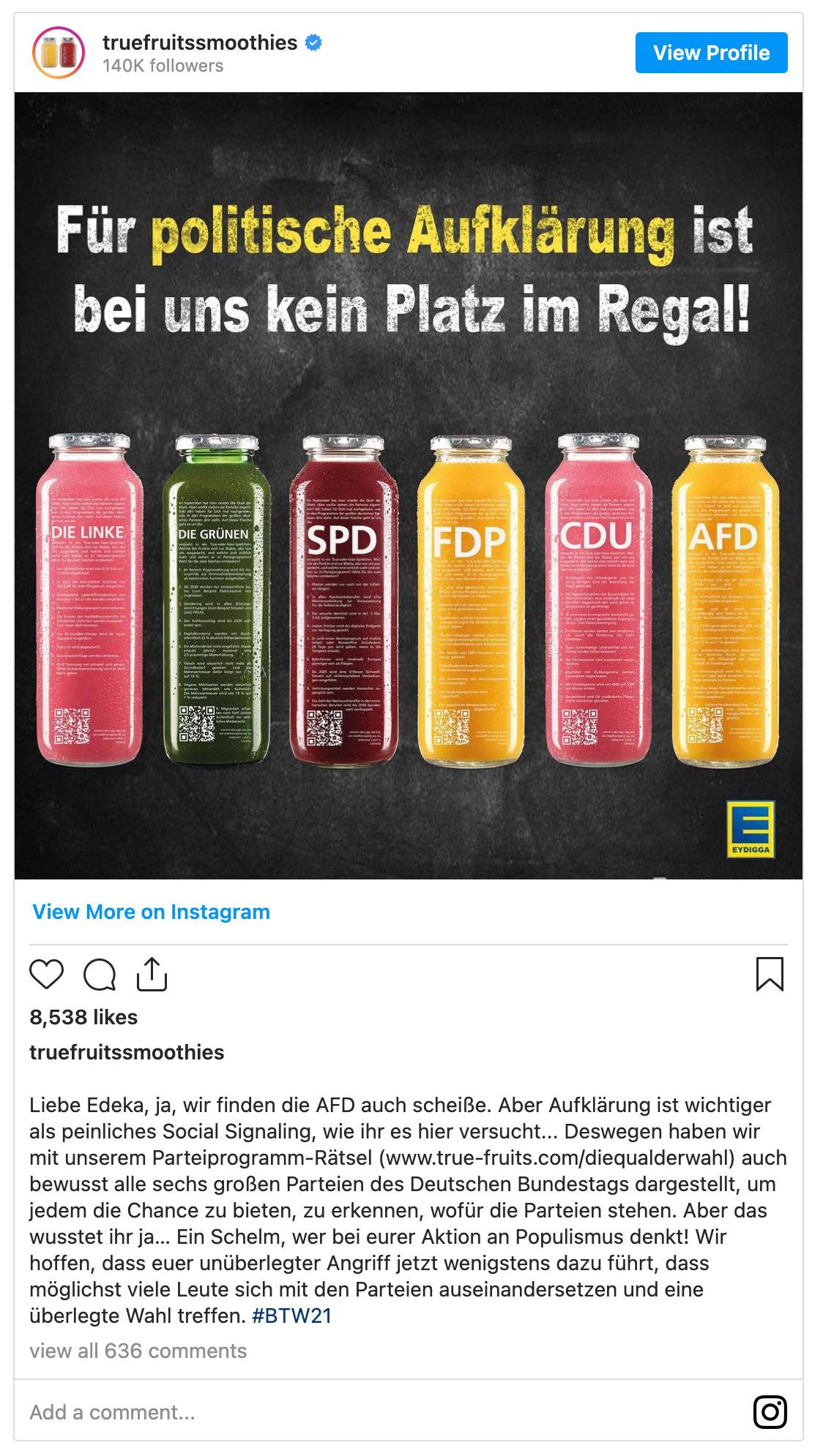 wwf socialmedia fail 4 - True Fruits - EDEKA und WWF - So geht Social Media (nicht)