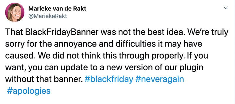 yoast blackfriday 2019 fail ceo statement - Yoast Black Friday Ads Skandal 2019