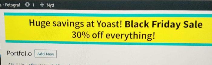 yoast blackfriday 2019 fail - Yoast Black Friday Ads Skandal 2019