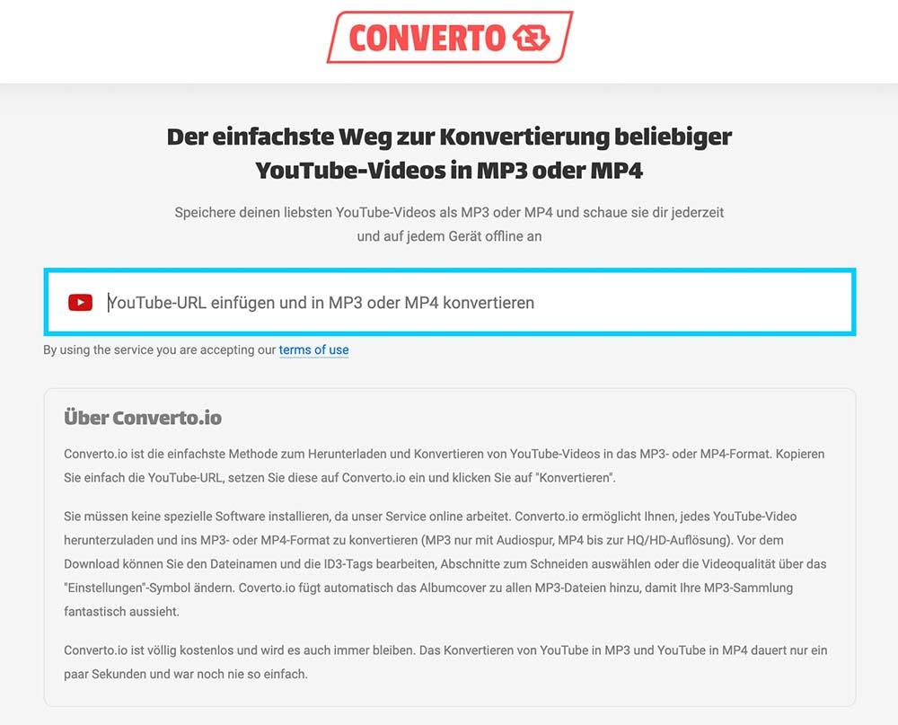 youtube video download 2021 converto - 3 Wege wie man ein Youtube Video herunterladen kann