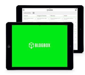 Wir sind ab sofort Teil der Blogbox App