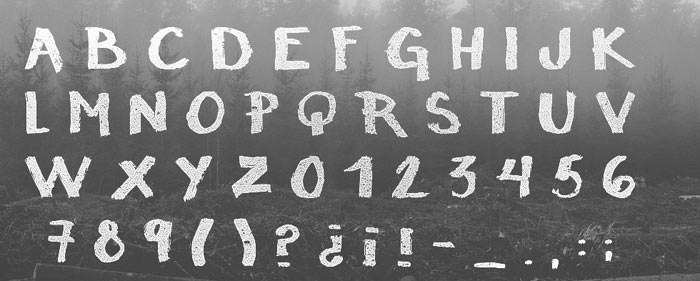 RAW - Free Font