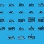 auto verkehr icon 150x150 - 24 Runde Social Media Icons
