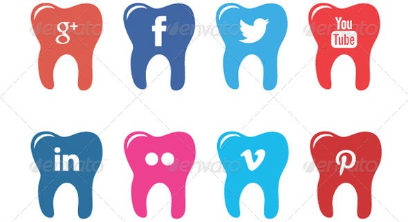 12 Dental Clinic Social Icons - 40 gratis Sommer Icons