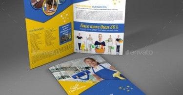 mockup-Cleaning-Services-Company-Bi-Fold-Brochure