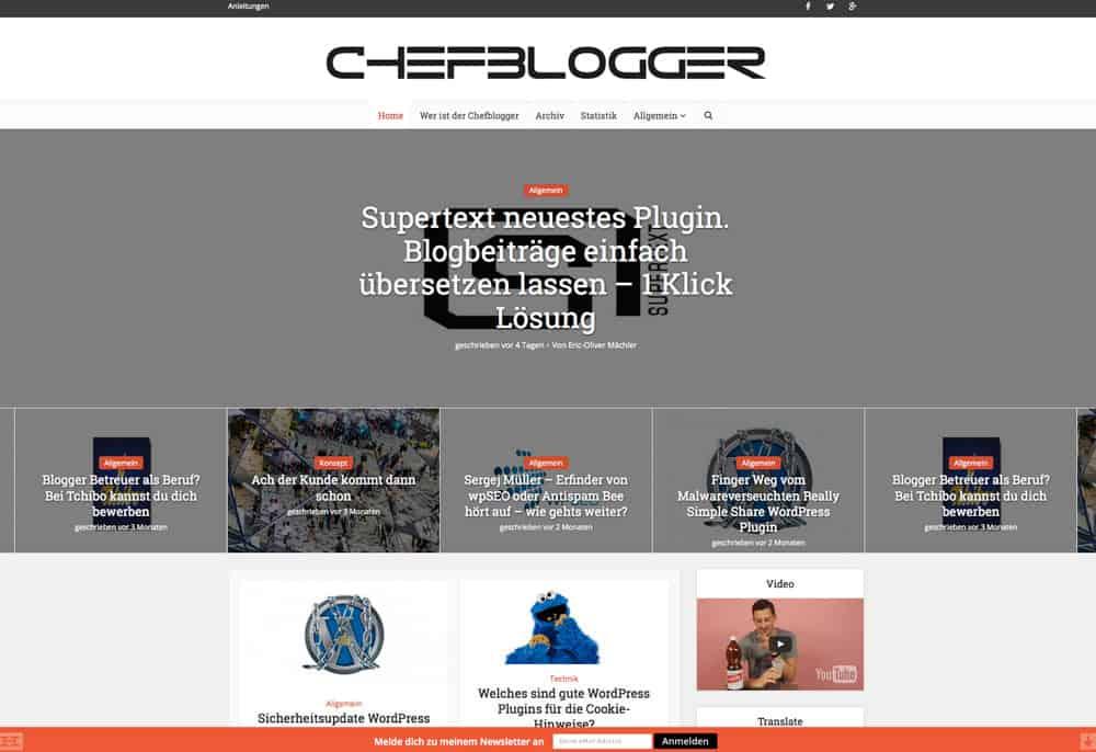 chefblogger-design-neu-startseite