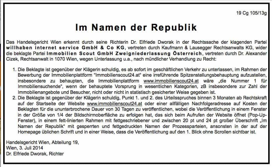 unlauterer-wettbewerb-immobilienscout24-oesterreich