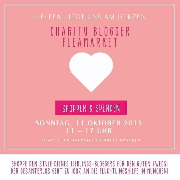 bloggerflohmarktmuenchen - Blogger Charity Aktion - Blogger organisieren Flohmarkt und helfen Flüchtlingen