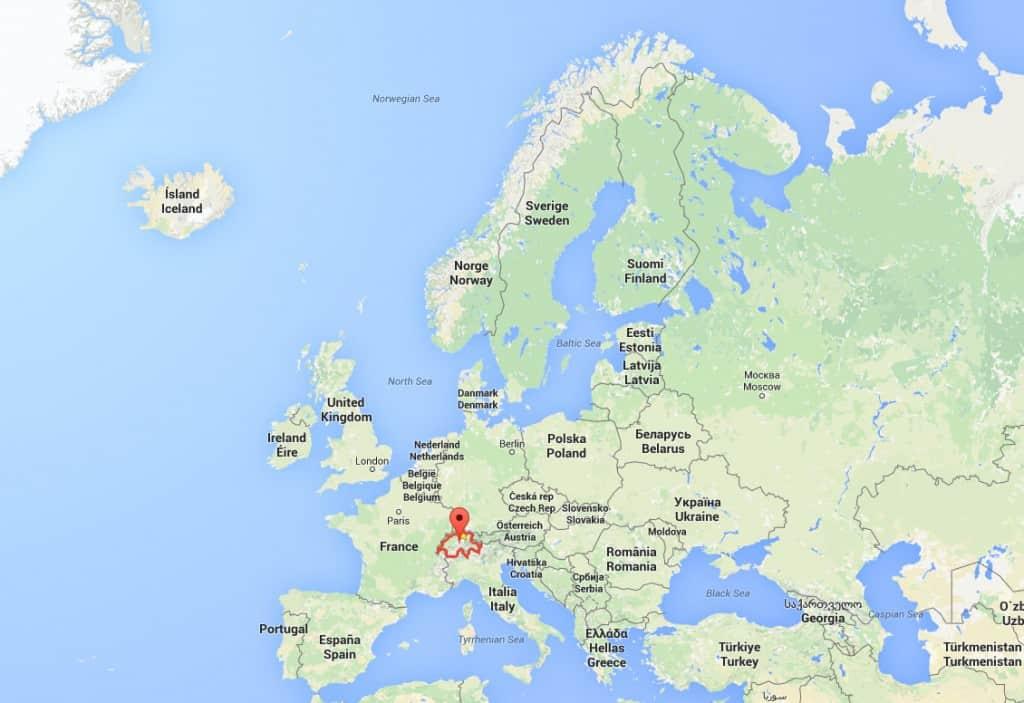 Kleine Nachhilfestunde für alle - Wo liegt Schweden und wo liegt die Schweiz