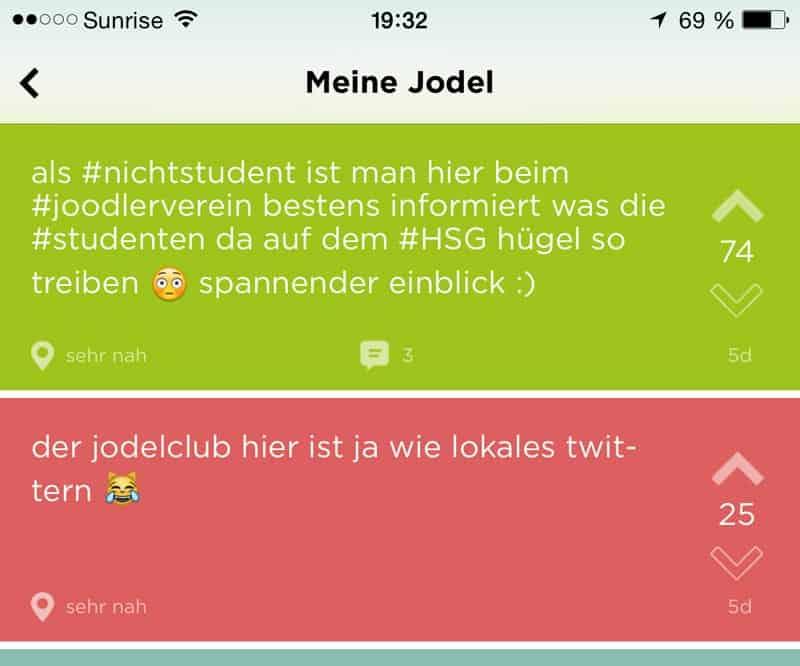 jodel app 3 - Die App - Twitter für Studenten