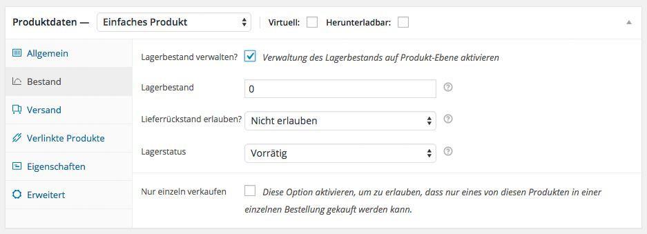 wordpress-woocommerce-produkt-lagerverwaltung