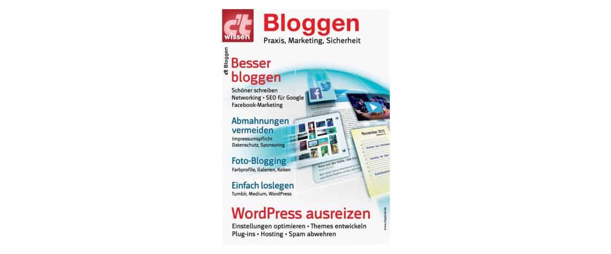 c't wissen Bloggen (2016)