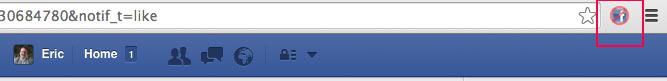 facebook browser icon - Anleitung: Wie entferne ich Inhalte von der Facebook Chronik