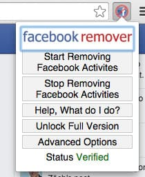 facebook-remover-menu