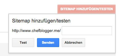 google webmastertool sitemap hinzufuegen - Wie trage ich meine Webseite bei Google ein