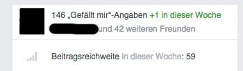 facebook fanpage anzeige mini - Facebook: Wie sehe ich wem meine Seite gefällt?
