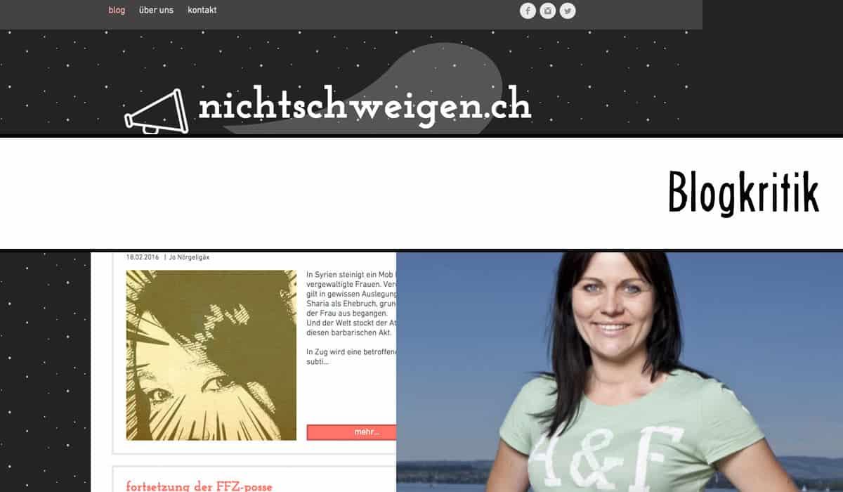 Blogkritik: Jolanda Spiess-Hegglin's nichtschweigen.ch