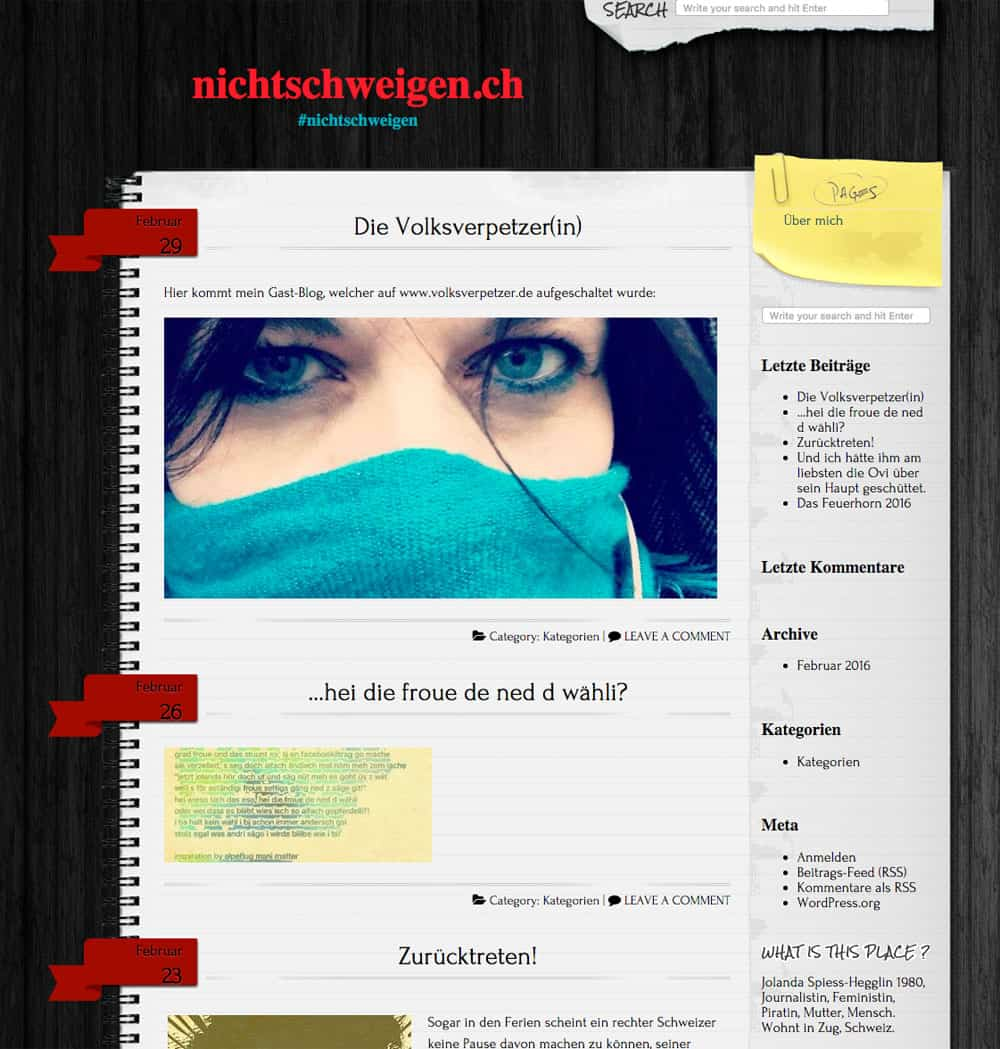 jolanda spiess hegglin blog - Wenn die Blogkritik fruchtet - Jolanda Spiess-Hegglin Blog