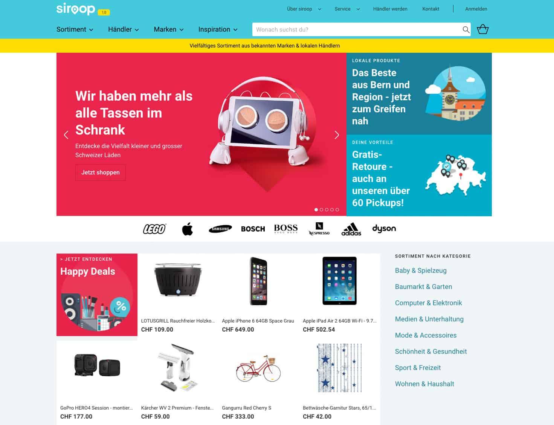 siroop start 1 0 - Siroop und die Guerilla Marketing Aktion die kein Schwein interessierte