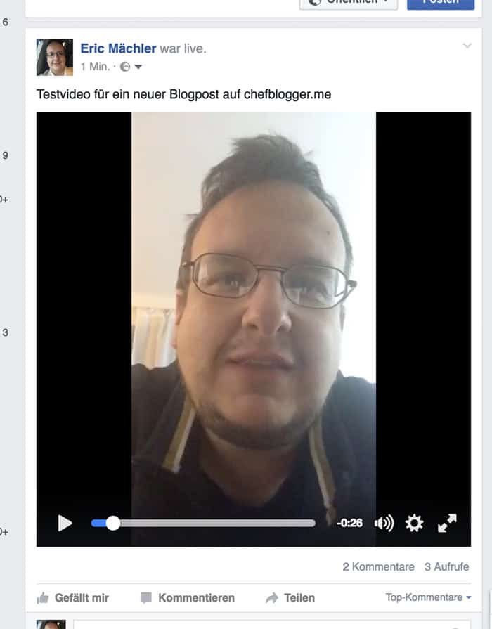 anleitung facebook live stream video download 1 - Facebook: Wie kann ich Facebook Live Videos abspeichern