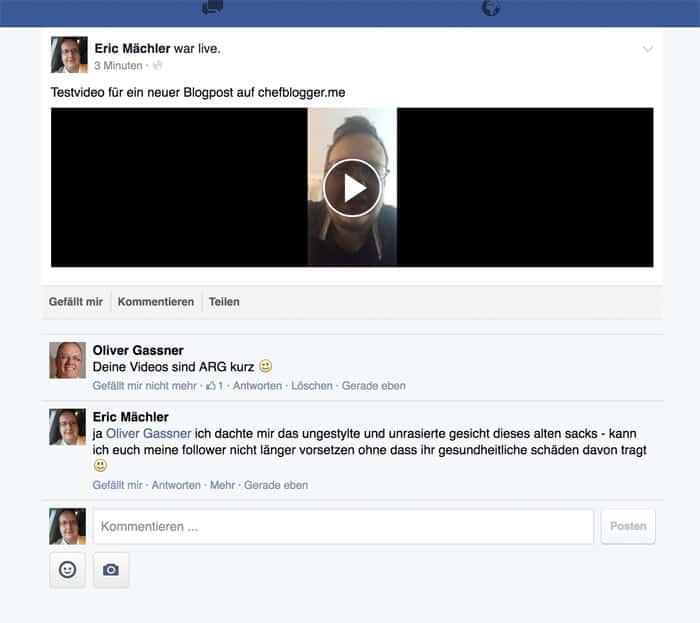 anleitung facebook live stream video download 4 - Facebook: Wie kann ich Facebook Live Videos abspeichern