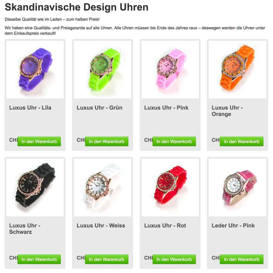 seco stylelux 3 - Schweizerisches Staatssekretariat für Wirtschaft warnt vor Online Shop