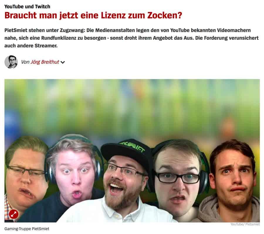 youtube rundfunklizenz - Rundfunklizenz für Youtuber, Facebook, Snapchater oder Instagramer? Die Deutschen spinnen doch :)