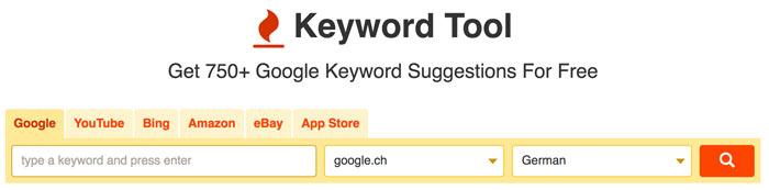 keyworttool 1 - Ein geniales und einfaches Keyworttool