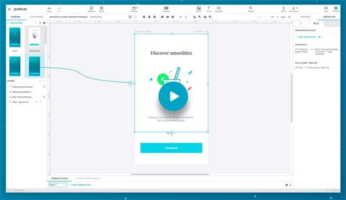 protoio - Online Prototypen einfach entwerfen und designen