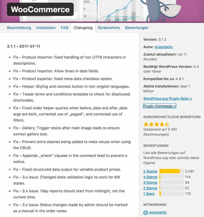 woocommerce 3 1 2 - Achtung Probleme !! WooCommerce 3.1.2 wurde veröffentlicht