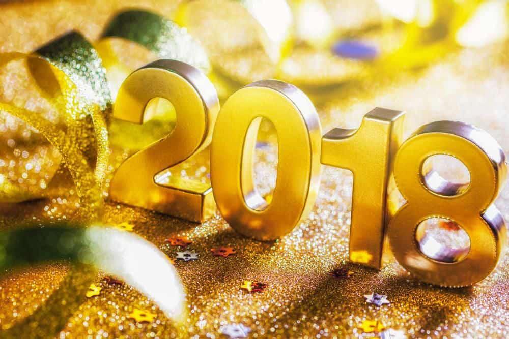 Einen guten Rutsch ins neue Jahr 2018 & Jahresrückblick 2017
