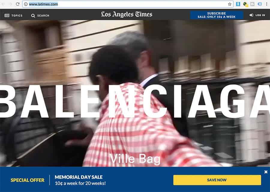 dsgvo latimes - Leser aus Deutschland / EU sind nicht erwünscht und werden gesperrt