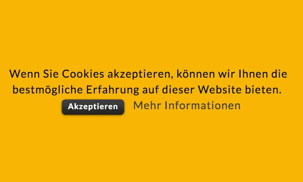 Nervende Cookie-Warnungen im Browser abschalten.