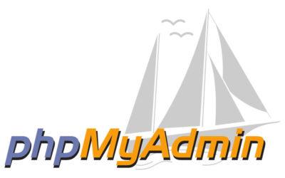 phpMyAdmin Unbekannte Sortierreihenfolge: