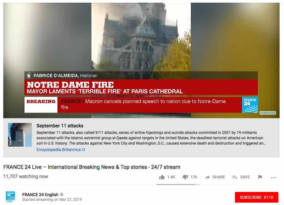 uploadfilter notre dame fire - So gut funktioniert der Uploadfilter auf Youtube
