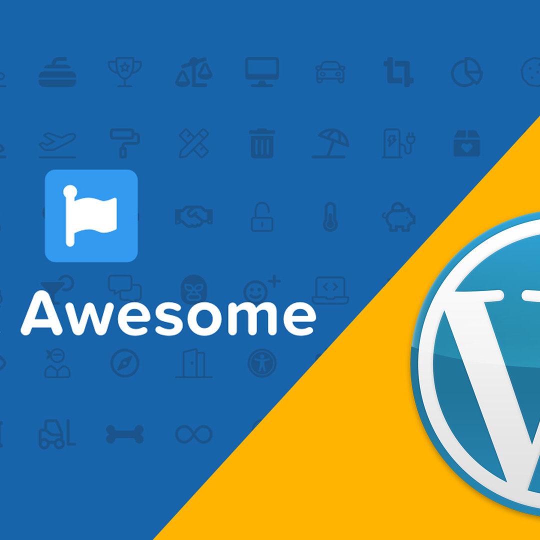 WordPress Menu mit Font Awesome Icon erweitern